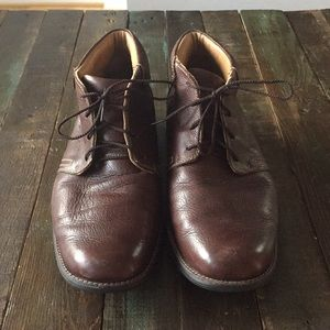 Men's Johnston & Murphy Leather Boots Size 12